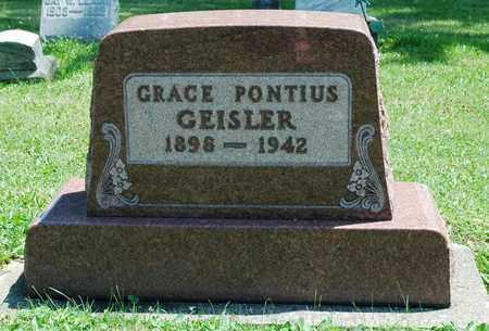 PONTIUS GEISLER, GRACE - Wayne County, Ohio | GRACE PONTIUS GEISLER - Ohio Gravestone Photos