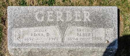 GERBER, EDNA D - Wayne County, Ohio | EDNA D GERBER - Ohio Gravestone Photos