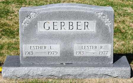 GERBER, ESTHER L - Wayne County, Ohio | ESTHER L GERBER - Ohio Gravestone Photos