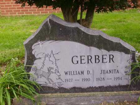 GERBER, JUANITA - Wayne County, Ohio   JUANITA GERBER - Ohio Gravestone Photos