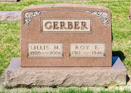 GERBER, ROY E - Wayne County, Ohio | ROY E GERBER - Ohio Gravestone Photos