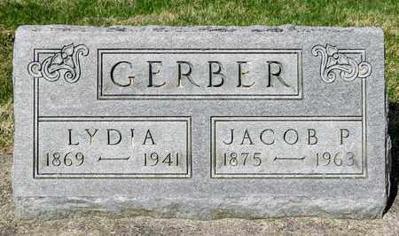 GERBER, JACOB P - Wayne County, Ohio | JACOB P GERBER - Ohio Gravestone Photos