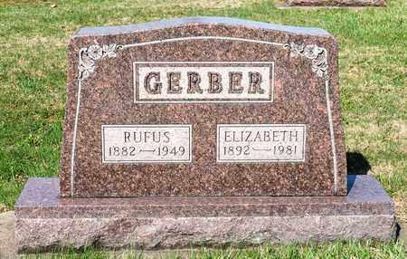GERBER, ELIZABETH - Wayne County, Ohio   ELIZABETH GERBER - Ohio Gravestone Photos