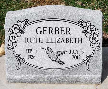 GERBER, RUTH ELIZABETH - Wayne County, Ohio | RUTH ELIZABETH GERBER - Ohio Gravestone Photos