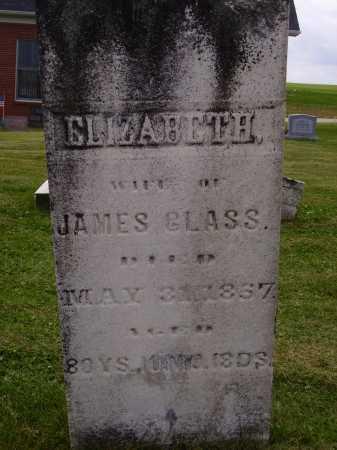 GLASS, ELIZABETH - Wayne County, Ohio   ELIZABETH GLASS - Ohio Gravestone Photos
