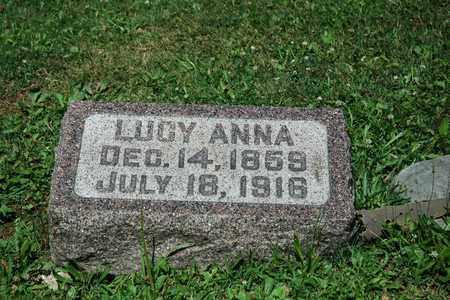 GOCHNAUER, LUCY ANNA - Wayne County, Ohio | LUCY ANNA GOCHNAUER - Ohio Gravestone Photos