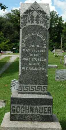 GOCHNAUER, SAMUEL - Wayne County, Ohio   SAMUEL GOCHNAUER - Ohio Gravestone Photos