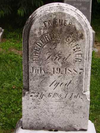 GRINER, FREDERICK - Wayne County, Ohio   FREDERICK GRINER - Ohio Gravestone Photos
