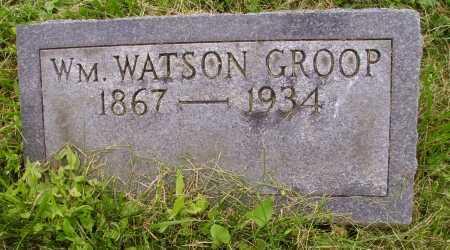GROOP, WILLIAM WATSON - Wayne County, Ohio | WILLIAM WATSON GROOP - Ohio Gravestone Photos