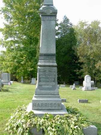 HARRISON, ELLA - Wayne County, Ohio | ELLA HARRISON - Ohio Gravestone Photos