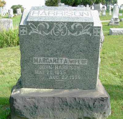 HARRISON, MARGARET A. - Wayne County, Ohio | MARGARET A. HARRISON - Ohio Gravestone Photos