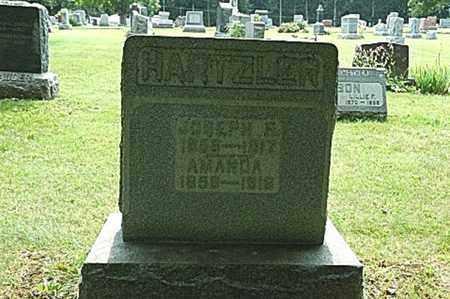 HARTZLER, AMANDA - Wayne County, Ohio | AMANDA HARTZLER - Ohio Gravestone Photos