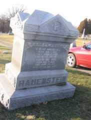 GRABER HAUENSTEIN, MARY (MARIA) - Wayne County, Ohio | MARY (MARIA) GRABER HAUENSTEIN - Ohio Gravestone Photos