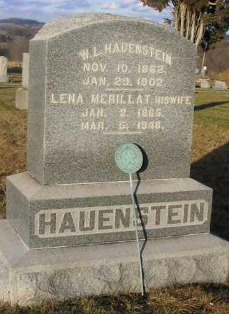 MERILLAT HAUENSTEIN, LENA  J. - Wayne County, Ohio | LENA  J. MERILLAT HAUENSTEIN - Ohio Gravestone Photos