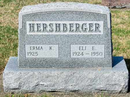 HERSHBERGER, ELI E - Wayne County, Ohio | ELI E HERSHBERGER - Ohio Gravestone Photos