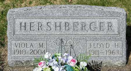 HERSHBERGER, FLOYD H - Wayne County, Ohio | FLOYD H HERSHBERGER - Ohio Gravestone Photos