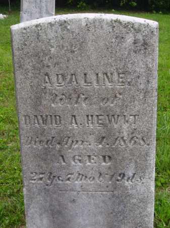 HEWIT, ADALINE - Wayne County, Ohio | ADALINE HEWIT - Ohio Gravestone Photos