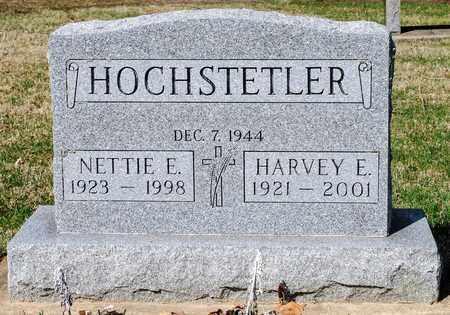 HOCHSTETLER, HARVEY E - Wayne County, Ohio | HARVEY E HOCHSTETLER - Ohio Gravestone Photos