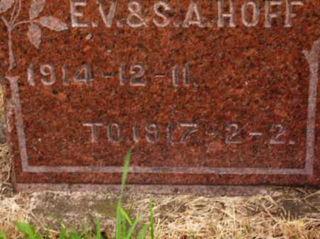 HOFF, HAROLD - DATES - Wayne County, Ohio   HAROLD - DATES HOFF - Ohio Gravestone Photos