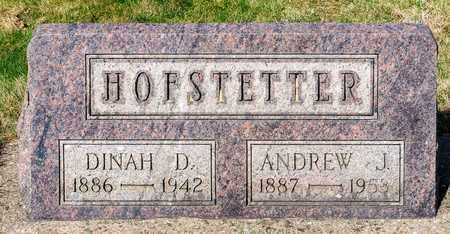 HOFSTETTER, ANDREW J - Wayne County, Ohio   ANDREW J HOFSTETTER - Ohio Gravestone Photos