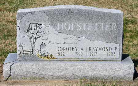 HOFSTETTER, RAYMOND E - Wayne County, Ohio | RAYMOND E HOFSTETTER - Ohio Gravestone Photos