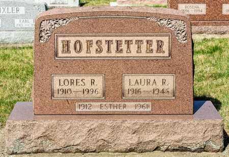 HOFSTETTER, LORES R - Wayne County, Ohio | LORES R HOFSTETTER - Ohio Gravestone Photos