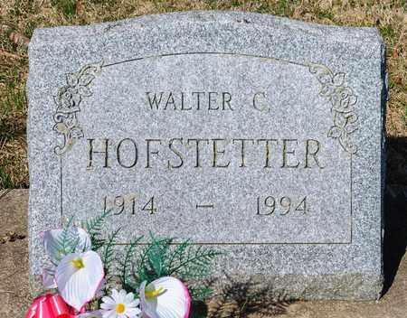 HOFSTETTER, WALTER C - Wayne County, Ohio | WALTER C HOFSTETTER - Ohio Gravestone Photos