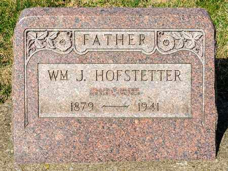 HOFSTETTER, WILLIAM J - Wayne County, Ohio | WILLIAM J HOFSTETTER - Ohio Gravestone Photos