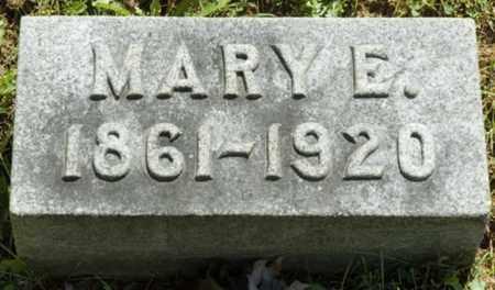 HORBACH, MARY E. - Wayne County, Ohio | MARY E. HORBACH - Ohio Gravestone Photos