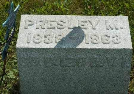 HORBACH, PRESLEY M. - Wayne County, Ohio   PRESLEY M. HORBACH - Ohio Gravestone Photos