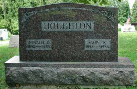 HOUGHTON, MARY K. - Wayne County, Ohio | MARY K. HOUGHTON - Ohio Gravestone Photos