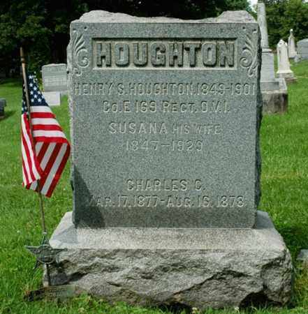 EMIG HOUGHTON, SUSANA - Wayne County, Ohio | SUSANA EMIG HOUGHTON - Ohio Gravestone Photos