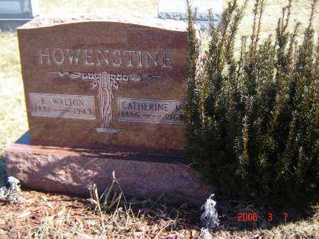 WARNES HOWENSTINE, CATHERINE - Wayne County, Ohio | CATHERINE WARNES HOWENSTINE - Ohio Gravestone Photos