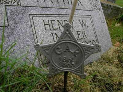 IMMLER, HENRY W. - CIVIL WAR - Wayne County, Ohio | HENRY W. - CIVIL WAR IMMLER - Ohio Gravestone Photos