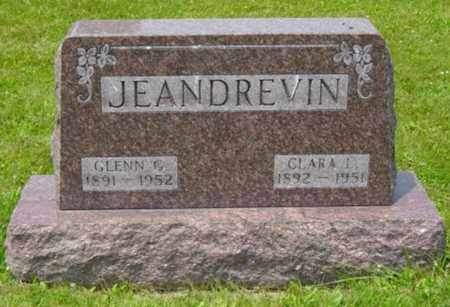 JEANDREVIN, CLARA L. - Wayne County, Ohio | CLARA L. JEANDREVIN - Ohio Gravestone Photos