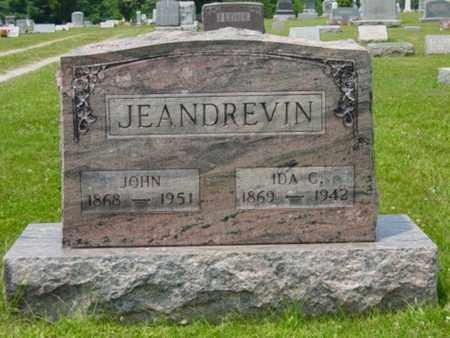 JEANDREVIN, IDA C. - Wayne County, Ohio | IDA C. JEANDREVIN - Ohio Gravestone Photos