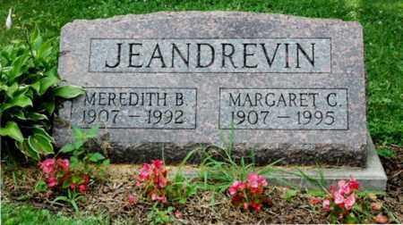JEANDREVIN, MEREDITH B. - Wayne County, Ohio | MEREDITH B. JEANDREVIN - Ohio Gravestone Photos