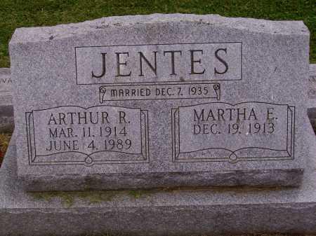 JENTES, MARTHA E. - Wayne County, Ohio   MARTHA E. JENTES - Ohio Gravestone Photos