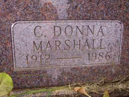 MARSHALL JOHNSON, C. DONNA - Wayne County, Ohio | C. DONNA MARSHALL JOHNSON - Ohio Gravestone Photos