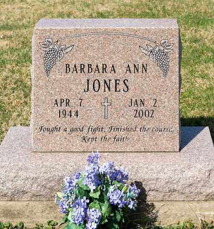 JONES, BARBARA ANN - Wayne County, Ohio | BARBARA ANN JONES - Ohio Gravestone Photos