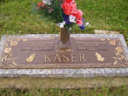 KASER, RETA M. - Wayne County, Ohio | RETA M. KASER - Ohio Gravestone Photos