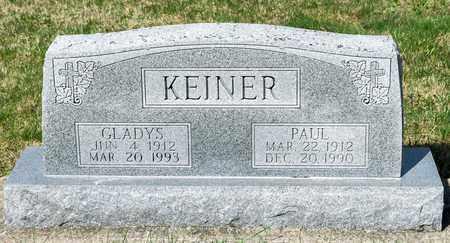 KEINER, PAUL - Wayne County, Ohio   PAUL KEINER - Ohio Gravestone Photos