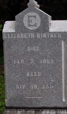 KINTNER, ELIZABETH - CLOSEVIEW - Wayne County, Ohio   ELIZABETH - CLOSEVIEW KINTNER - Ohio Gravestone Photos