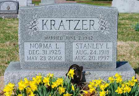 KRATZER, STANLEY L - Wayne County, Ohio | STANLEY L KRATZER - Ohio Gravestone Photos