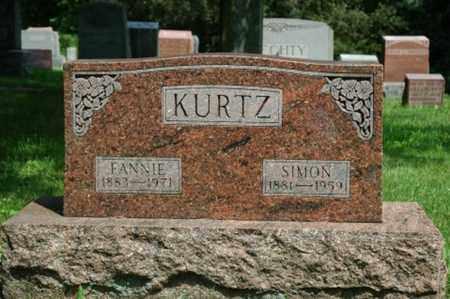KURTZ, SIMON - Wayne County, Ohio | SIMON KURTZ - Ohio Gravestone Photos