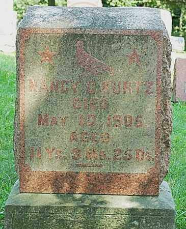 KURTZ, NANCY C. - Wayne County, Ohio | NANCY C. KURTZ - Ohio Gravestone Photos