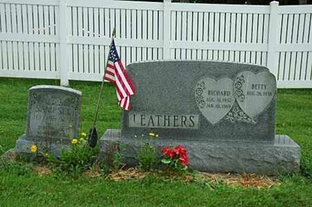 LEATHERS, RICHARD - Wayne County, Ohio   RICHARD LEATHERS - Ohio Gravestone Photos