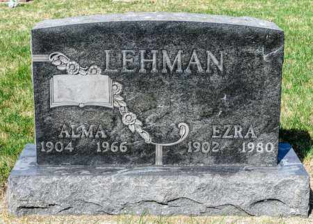 LEHMAN, ALMA - Wayne County, Ohio | ALMA LEHMAN - Ohio Gravestone Photos