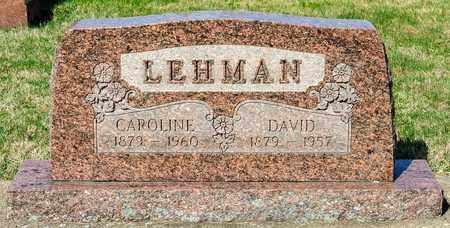 LEHMAN, DAVID - Wayne County, Ohio   DAVID LEHMAN - Ohio Gravestone Photos