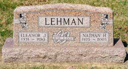 LEHMAN, ELEANOR J - Wayne County, Ohio | ELEANOR J LEHMAN - Ohio Gravestone Photos
